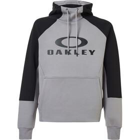 Oakley Sierra DWR Fleece Hoodie Heren, black/grey